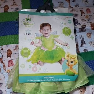 Baby tinkerbell Halloween costume 6-12m